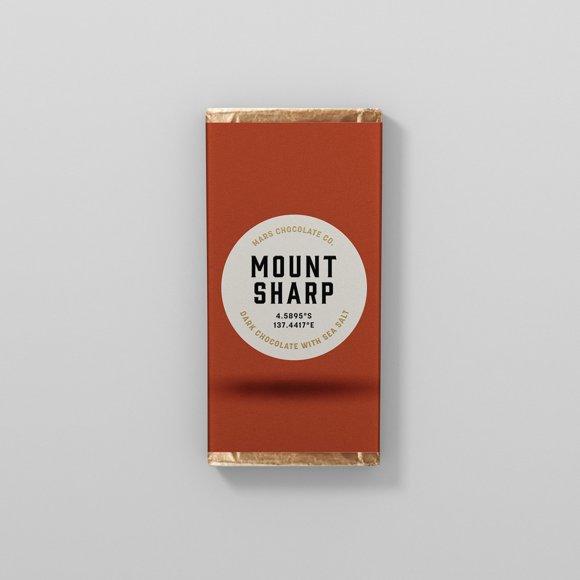 Mount Sharp dark chocolate packaging Franziska Böttcher